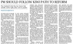 OH - PM should follow Kiwi path to reform 01-12-2014