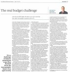 Oliver Hartwich - The real budget challenge