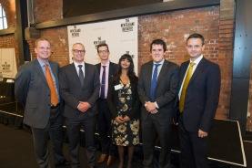 Dr Oliver Hartwich, Dr David Clark MP, Dr Eric Crampton, Jenesa Jeram, Chris Bishop MP, James Shaw MP (April 2015)