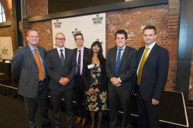 Dr Oliver Hartwich, Dr David Clark MP, Dr Eric Crampton, Jenesa Jeram, Chris Bishop MP, James Shaw MP (April 2015)