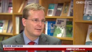 Dr Oliver Hartwich on One News (December 2014)