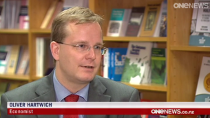 Dr Oliver Hartwich on One News (December 2014)