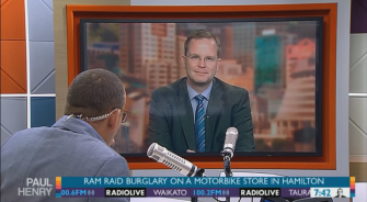 Dr Oliver Hartwich on the Paul Henry Show (May 2015)